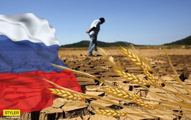 """Засуха і неврожай: синоптик прогнозує Росії """"повний крах"""""""