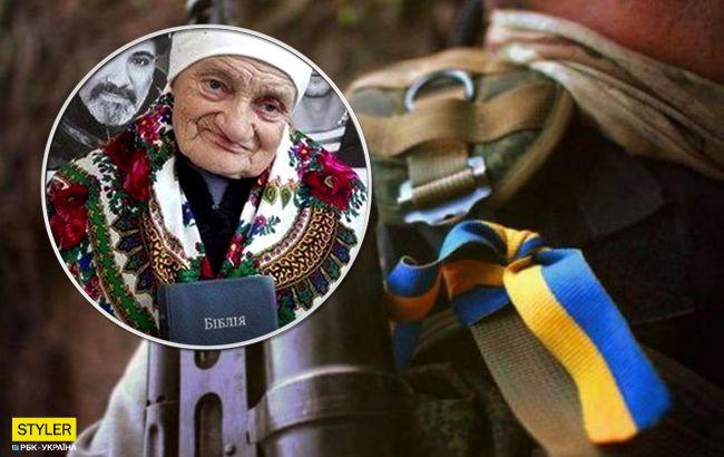 Зустрічає бійців на вокзалі: історія 90-річної волонтерки зворушила українців (відео)