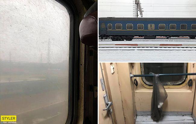 """Особливий випадок: пасажири поїзда """"Львів-Маріуполь"""" вирішили самі зробити прибирання у купе"""