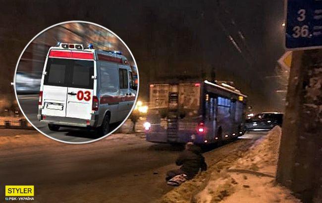 У Харкові неадекватний водій виштовхав з тролейбуса пасажира: той у лікарні