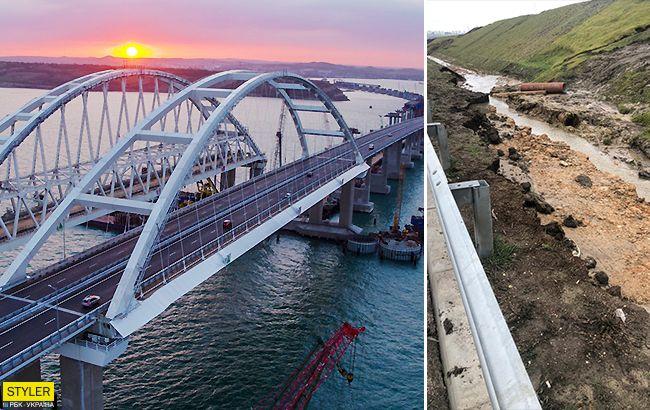 Несе загрозу: у Кримського мосту нові серйозні проблеми