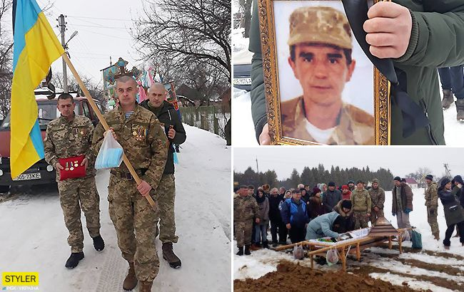 Провели в останню путь: воїн АТО, нагороджений Порошенко, трагічно помер