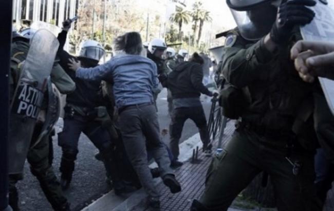 Фото: протесты в Греции