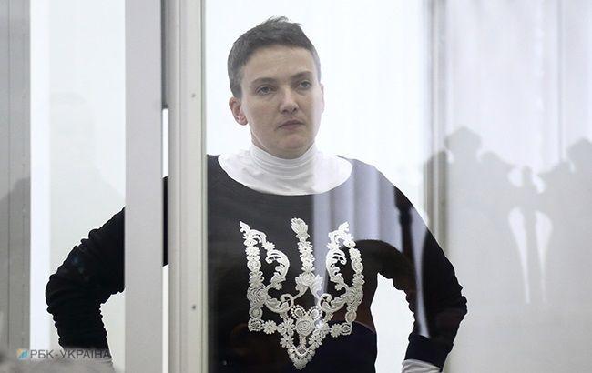 Савченко подала документы в ЦИК