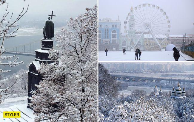 Самый снежный город: Киев вошел в престижный топ