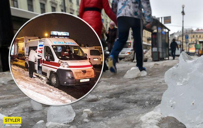 Брила льоду проломила голову: трагічні подробиці НП у Конотопі