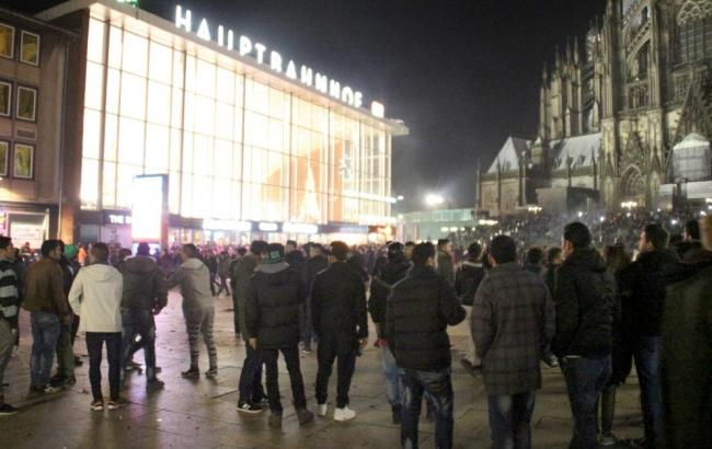 Фото: протесты в Кельне
