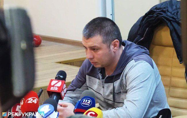 Поліцейського, який бив ногами активістів, заарештували на 2 місяці