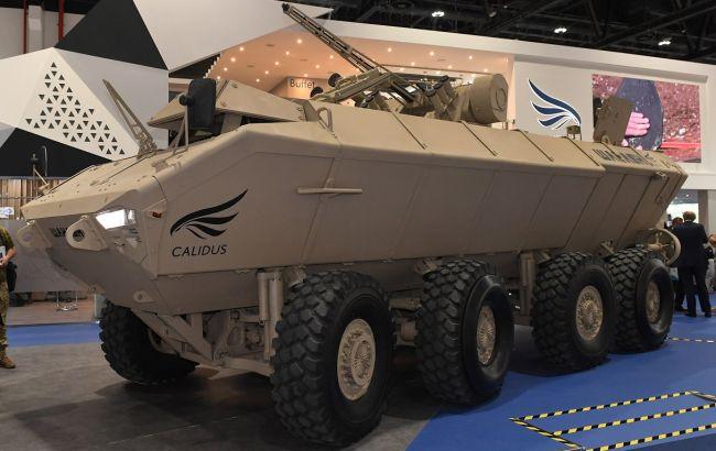 В ОАЕ презентували бронетранспортер з українським бойовим модулем