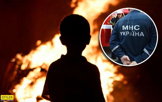 Страшна пожежа в Києві: чудесний порятунок дитини показали на відео
