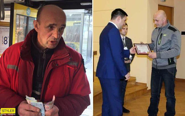 Побільше б таких людей: у Києві кондуктор отримав нагороду за людяність (фото)