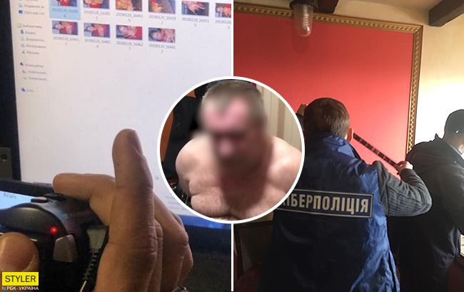 У Києві затримали організатора дитячої порностудії (відео)