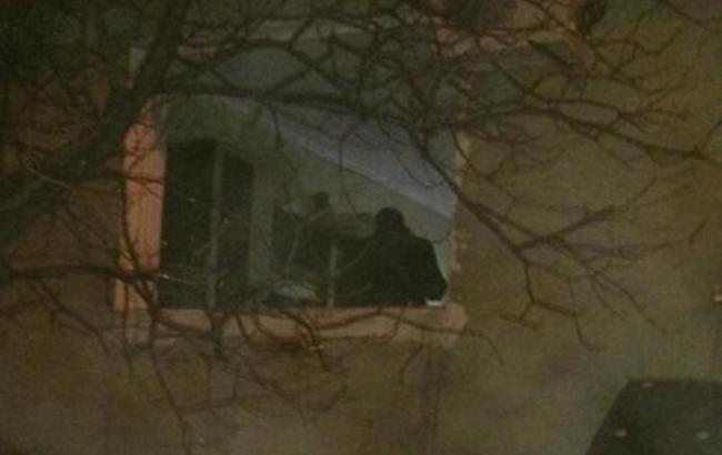 Фото: взрыв в Мариуполе