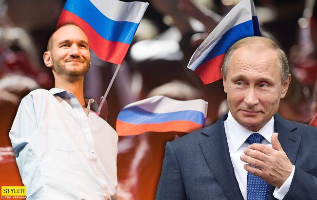 Хотел бы обнять Путина: Ника Вуйчича обвинили в любви к хозяину Кремля