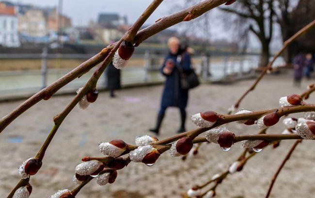 В Украину придет похолодание