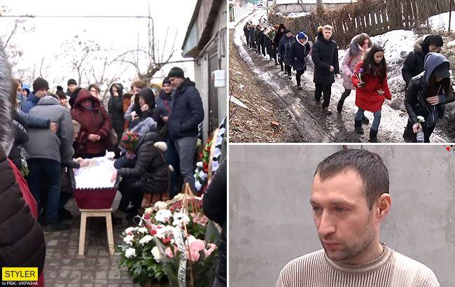 Зачем теперь жить: отец похоронил 14-летнюю дочь в Харькове