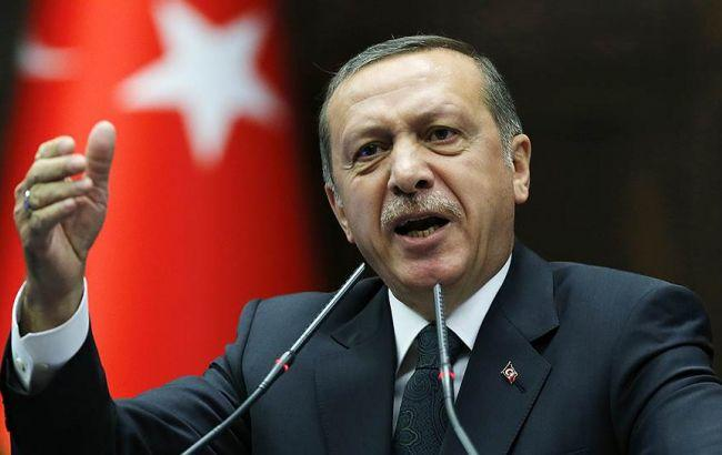 Ердоган: РФ збирається побудувати в Сирії нову державу