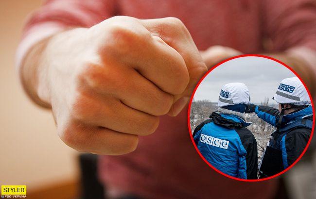 У центрі Києва жебрак побив спостерігачку ОБСЄ