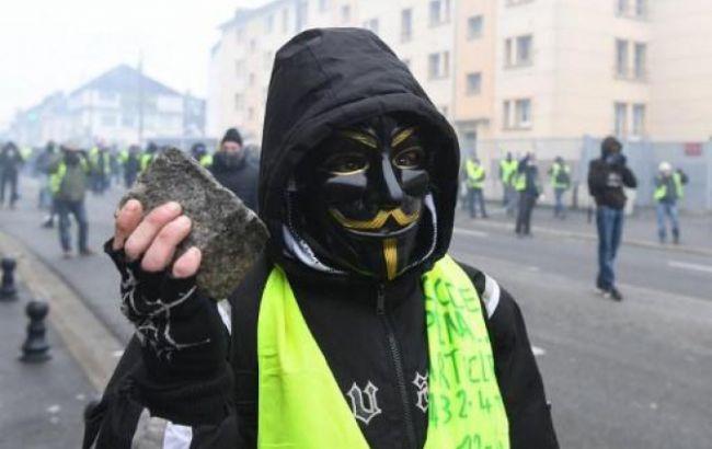 """Більше 20 активістів руху """"жовтих жилетів"""" засудили до позбавлення волі"""