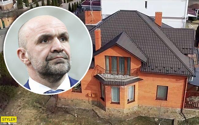 Хотел спрятать: у фигуранта в убийстве Гандзюк нашли элитный особняк под Киевом