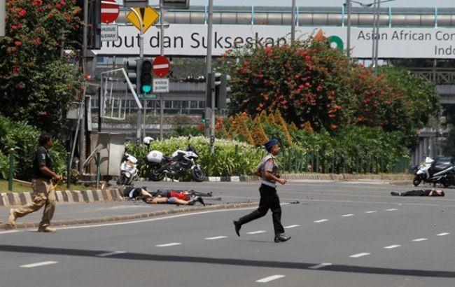 Фото: у столиці Індонезії відбулася серія вибухів
