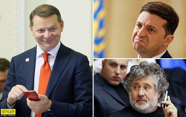 Помстився: Ляшко злив в мережу телефони Зеленського і Коломойського
