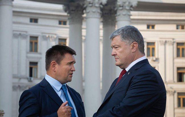 Суд зобов'язав НАБУ відкрити справи проти Порошенка і Клімкіна