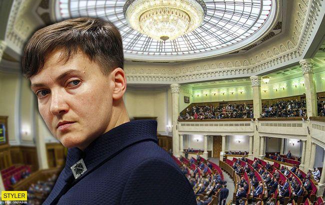 Савченко вернулась в Верховную Раду: сеть шокирована новостью (видео)