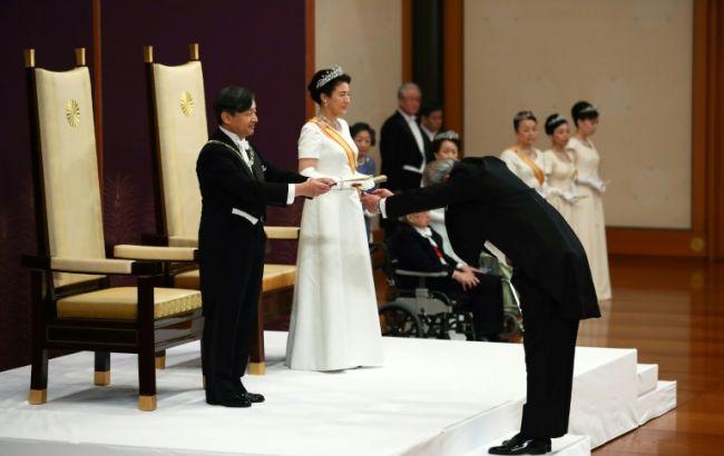 Новий імператор Японії зійшов на престол