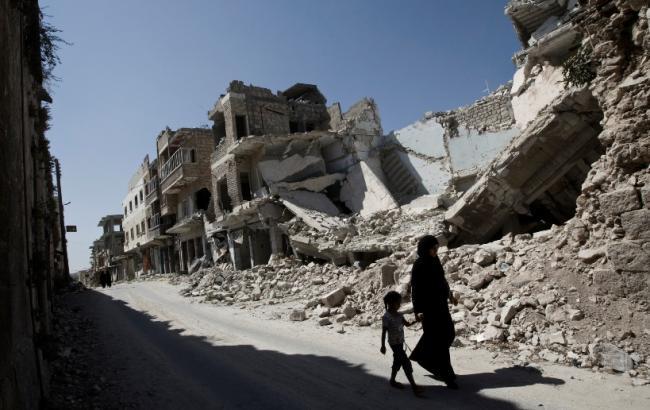 Фото: сирійські мирні жителі