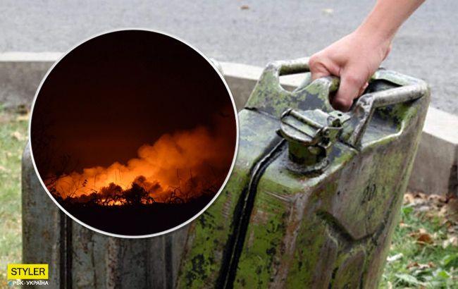 Облив себе і будинок бензином і підпалив: деталі НП на Закарпатті