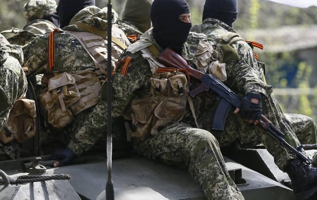 Фото: боевики незаконных вооруженных формирований