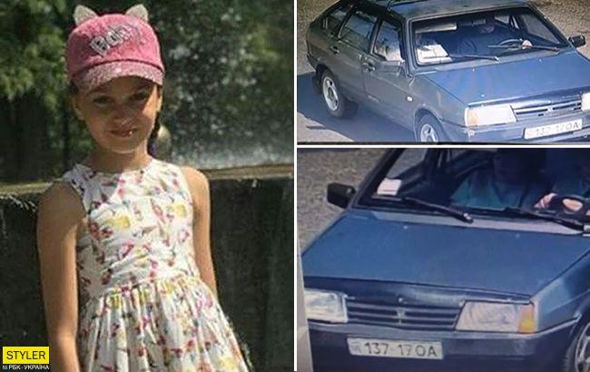 Могли вивезти: поліція шукає автомобіль викрадачів 11-річної Даші (відео)