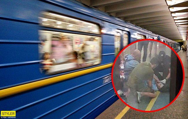 Поезд задел голову: кровавое ЧП в киевском метро взбудоражило сеть