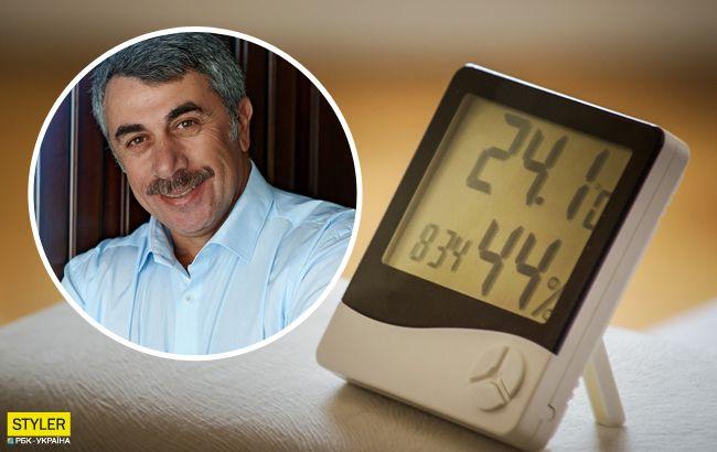 Отличный способ: Комаровский рассказал, как бороться с влажностью в доме (видео)