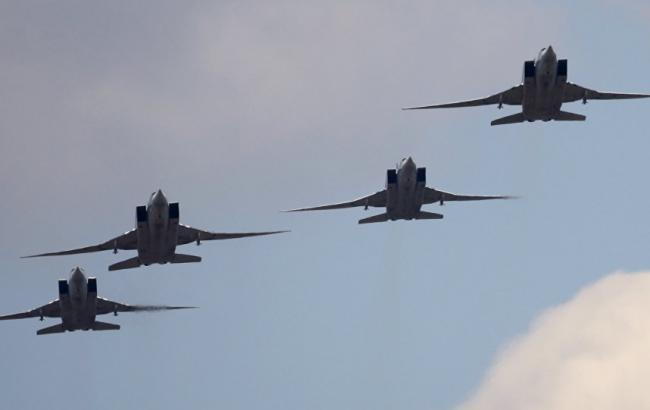 Фото: російська авіація в Сирії