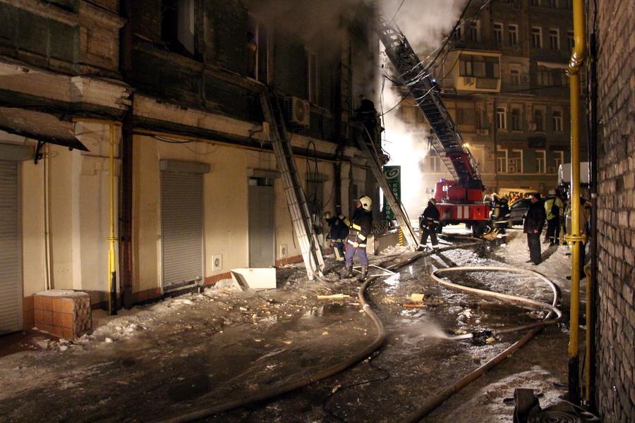Ужитловому будинку вцентрі Києва стався вибух: є жертви