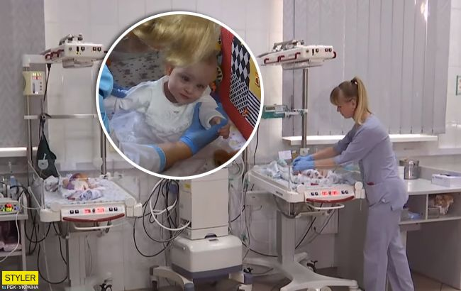 Родители отказались: во Львове впервые выходили ребенка с весом 480 грамм (видео)
