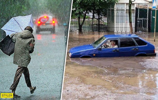 Злива в Києві стала рекордною за останні 57 років: усі деталі