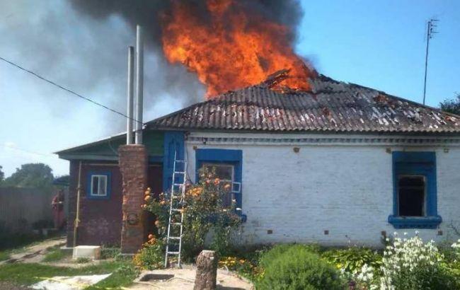 Полиция открыла дело по факту гибели детей на пожаре в Киевской области