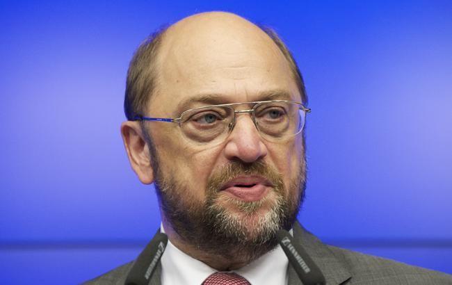 Фото: глава Європарламенту Мартін Шульц