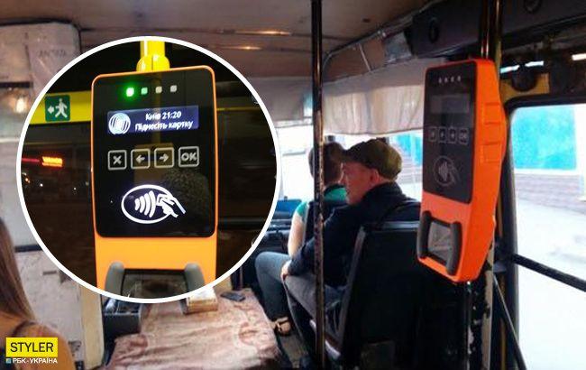 У Києві з'явилися перші маршрутки з валідаторами: що відомо