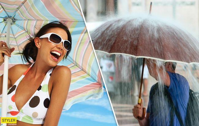 Спека та грозові дощі: в яких областях очікується негода
