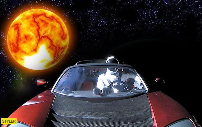 Tesla Ілона Маска вперше облетіла навколо Сонця: скоро наблизиться до Землі
