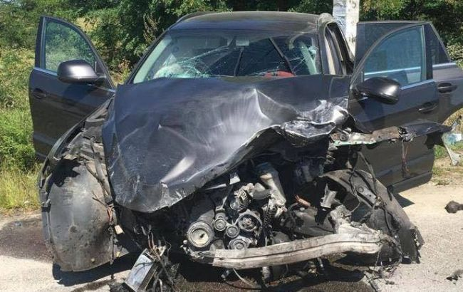 В ДТП на трассе Киев-Сумы погибли полицейский и ребенок