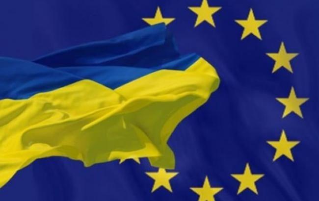 Фото: Украина и ЕС
