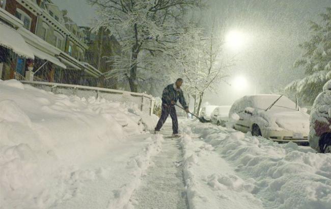 Фото: сніг у Вашингтоні