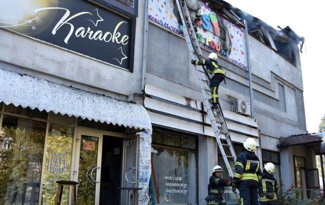 В Одесской области произошел пожар в доме быта