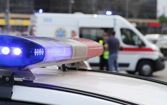 В Киеве избили приехавшего на вызов полицейского