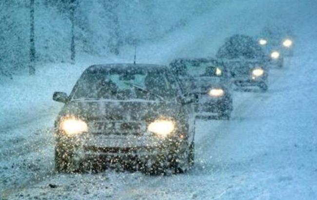 Фото: снегопады в Украине